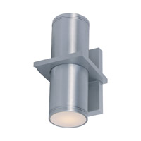 Maxim Lighting Lightray 2 Light LED Wall Sconce in Brushed Aluminum 86115AL