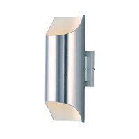 Lightray LED 14 inch Brushed Aluminum Outdoor Wall Sconce