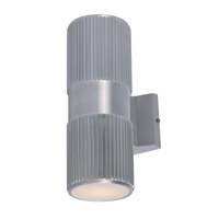 Maxim 86123AL Lightray LED 4 inch Brushed Aluminum Wall Sconce Wall Light