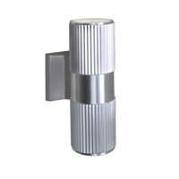 Maxim Lighting Lightray 2 Light LED Wall Sconce in Brushed Aluminum 86126AL