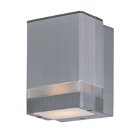 Maxim 86128AL Lightray LED 4 inch Brushed Aluminum ADA Wall Sconce Wall Light