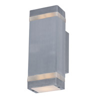 Maxim Lighting Lightray 2 Light LED Wall Sconce in Brushed Aluminum 86129AL