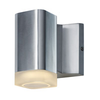 Maxim 86131AL Lightray LED LED 5 inch Brushed Aluminum Outdoor Wall Sconce