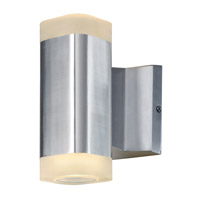 Maxim 86132AL Lightray LED LED 7 inch Brushed Aluminum Outdoor Wall Sconce