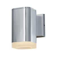 Maxim 86134AL Lightray LED LED 7 inch Brushed Aluminum Outdoor Wall Sconce