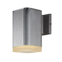 Maxim 86137AL Lightray LED LED 8 inch Brushed Aluminum Outdoor Wall Sconce