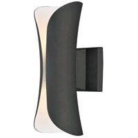 Maxim 86145ABZ Scroll LED 14 inch Architectural Bronze Outdoor Wall Sconce