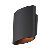 Lightray LED 7 inch Architectural Bronze Outdoor Wall Sconce