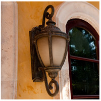 Maxim 86188LTET Morrow Bay Energy Efficient 1 Light 27 inch Earth Tone Outdoor Wall Mount