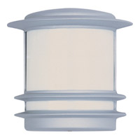 Maxim Lighting Zenith Energy Efficient 1 Light Outdoor Wall Mount in Platinum 86192WTPL
