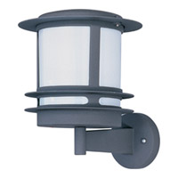 Maxim Lighting Zenith Energy Efficient 1 Light Outdoor Wall Mount in Architectural Bronze 86194WTABZ