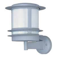 Maxim Lighting Zenith Energy Efficient 1 Light Outdoor Wall Mount in Platinum 86194WTPL