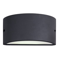 Maxim 86197WTABZ Zenith Energy Efficient 1 Light 5 inch Architectural Bronze Outdoor Wall Mount