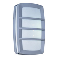 Maxim Lighting Zenith Energy Efficient 2 Light Outdoor Wall Mount in Platinum 86200WTPL