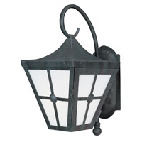 Maxim Lighting Castille 1 Light EE Outdoor Wall Lantern in Country Forge 86232FTCF