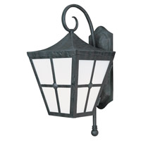 Maxim Lighting Castille 1 Light EE Outdoor Wall Lantern in Country Forge 86234FTCF