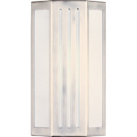 Maxim Lighting Beam EE 1 Light Outdoor Wall Mount in Stainless Steel 86300WTSST