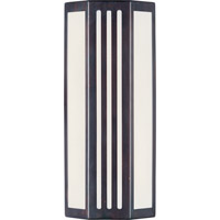 Maxim Lighting Beam Energy Efficient 1 Light Outdoor Wall Mount in Oil Rubbed Bronze 86303WTOI
