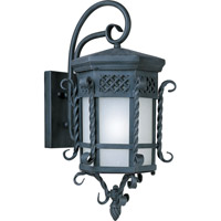 Scottsdale Energy Efficient 1 Light 24 inch Country Forge Outdoor Wall Mount