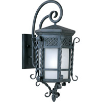 Scottsdale Energy Efficient 1 Light 28 inch Country Forge Outdoor Wall Mount