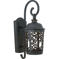 Maxim Lighting Whisper Dark Sky Energy Efficient 1 Light Outdoor Wall Mount in Bronze 86394BZ