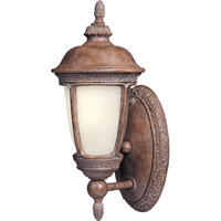 Maxim 86462SFSE Knob Hill Energy Efficient 1 Light 14 inch Sienna Outdoor Wall Mount