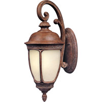 Maxim 86465SFSE Knob Hill Energy Efficient 1 Light 25 inch Sienna Outdoor Wall Mount