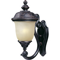 Maxim Lighting Carriage House Energy Efficient 1 Light Outdoor Wall Mount in Oriental Bronze 86523MOOB