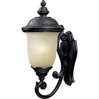 Maxim 86524MOOB Carriage House Energy Efficient 1 Light 27 inch Oriental Bronze Outdoor Wall Mount