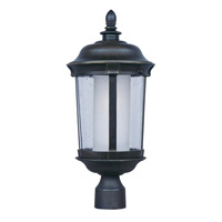 Maxim Lighting Dover EE 1 Light Outdoor Pole/Post Mount in Bronze 86592CDFTBZ