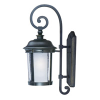 Maxim 86594CDFTBZ Dover EE 1 Light 25 inch Bronze Outdoor Pole/Post Mount
