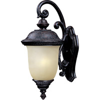 Maxim 86596MOOB Carriage House Energy Efficient 1 Light 20 inch Oriental Bronze Outdoor Wall Mount