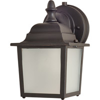 Maxim Lighting Side Door Energy Efficient 1 Light Outdoor Wall Mount in Empire Bronze 86924EB