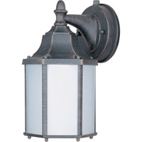 Maxim Lighting Side Door Energy Efficient 1 Light Outdoor Wall Mount in Rust Patina 86926RP