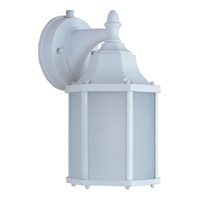 Maxim Lighting Side Door Energy Efficient 1 Light Outdoor Wall Mount in White 86926WT
