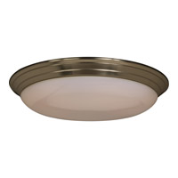 Maxim 87016SN Classic Energy Efficient 2 Light 17 inch Satin Nickel Flush Mount Ceiling Light