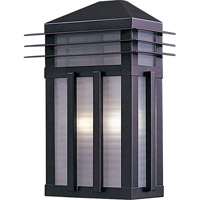 Maxim Lighting Gatsby 2 Light Outdoor Wall Mount in Burnished 8723PRBU