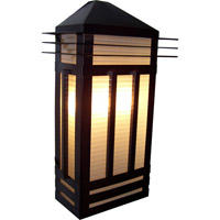 Maxim Lighting Gatsby 3 Light Outdoor Wall Mount in Burnished 8724PRBU