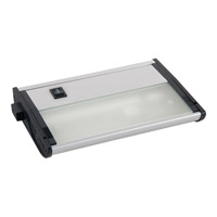 Maxim Lighting CounterMax MX-X12-LX 1 Light Under Cabinet in Brushed Aluminum 87449AL photo thumbnail