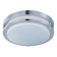 Maxim Lighting Linear LED 1 Light Flush Mount in Satin Nickel 87544WTSN
