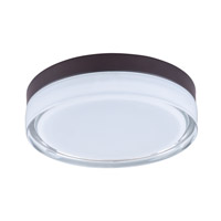Maxim Lighting Illuminaire LED 1 Light Flush Mount in Bronze 87632CLWTBZ