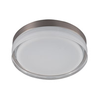 Illuminaire LED LED 9 inch Satin Nickel Flush Mount Ceiling Light