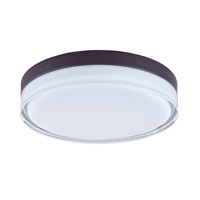Maxim Lighting Illuminaire LED 1 Light Flush Mount in Bronze 87634CLWTBZ