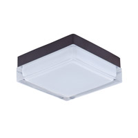 Maxim Lighting Illuminaire LED 1 Light Flush Mount in Bronze 87644CLWTBZ