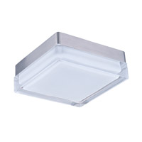 Maxim Lighting Illuminaire LED 1 Light Flush Mount in Satin Nickel 87644CLWTSN