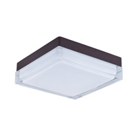 Maxim Lighting Illuminaire LED 1 Light Flush Mount in Bronze 87646CLWTBZ