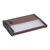 Maxim Lighting CounterMax MX-X120 1 Light Under Cabinet in Metallic Bronze 87830MB