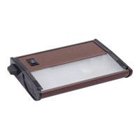 Maxim Lighting CounterMax MX-X12 1 Light Under Cabinet Kit in Metallic Bronze 87849MB