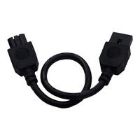 Maxim Lighting CounterMax MX-L120D Under Cabinet Accessory in Black 87876BK photo thumbnail