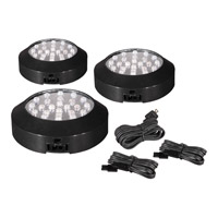 Maxim Lighting CounterMax MX-LD 72 Light Under Cabinet in Black 87883BK photo thumbnail